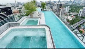 For RentCondoSiam Paragon ,Chulalongkorn,Samyan : Available Ashton Chula Silom ++ Good Decor ++ Rare Unit ++ Panoramic View ++ 75000 🔥