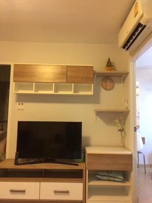 For RentCondoBang kae, Phetkasem : C225 For rent, The Viva Petchkasem 68, next to Petchkasem Road (corner room, 3rd floor, size 28 sq.m, 2 air conditioners)