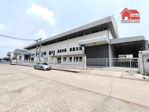 For RentFactoryRangsit, Patumtani : Factory / warehouse for rent, usable area 1,600 sq m (purple area), with transformers, with a license, Ror Ngor 4, Lam Luk Ka Road, Pathum Thani, rental price 190,000 baht / month