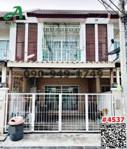 For RentTownhouseBang kae, Phetkasem : 2 storey townhouse for rent, Phumchanok Village, Phetkasem 67, near MRT Lak Song.