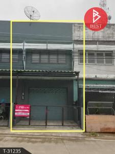 For SaleShophousePattaya, Bangsaen, Chonburi : Announcement Topic: Selling commercial buildings, 20 square meters, Sriracha, Chonburi