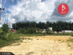 For SaleLandHatyai Songkhla : Land for sale, land area 5 rai 3 ngan 48.0 square wa, next to Phetkasem Road, Songkhla