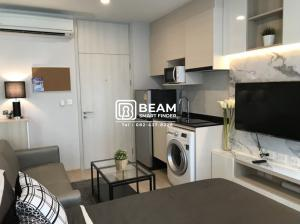For RentCondoRama9, RCA, Petchaburi : LI002_P Condo Life Asoke ** Fully furnished ** 💖 Convenient transportation near MRT Rama IX.