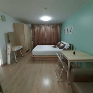 For RentCondoOnnut, Udomsuk : Condo for rent Elio Condo Sukhumvit 64 Soi Sukhumvit 64 Bang Chak Prakanong Studio room is cheap.