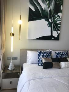 For RentCondoSukhumvit, Asoke, Thonglor : For rent, Brand new condo - Celes Asoke High Rise[Type 35 sqm. 10F.] Available now