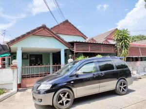 For RentHouseChiang Mai : One-storey house for rent in Mahidol Road, Chang Klan, Hai Ya, near Chiang Mai airport.