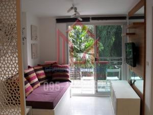 For RentCondoSukhumvit, Asoke, Thonglor : For Rent The Clover area 46 Sqm. 16K Per Month Fully Furnished