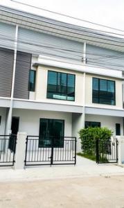 For RentTownhouseSamrong, Samut Prakan : NA-H5021 2 storey townhome for rent, Modi Villa Bangna project, fully furnished !!!