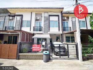 For SaleTownhouseRama 2, Bang Khun Thian : 2 storey Townhouse for sale, Gusto Village, Rama 2, Tha Kham, Bang Khun Thian, Bangkok.