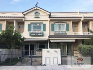For RentTownhouseBangna, Lasalle, Bearing : For Rent INDY 1 Townhouse fully furnished Near Megabangna ( PST-EVE235 )