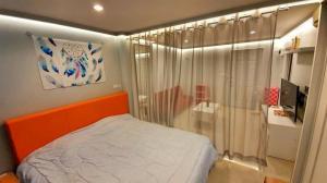 For RentCondoRamkhamhaeng, Hua Mak : ✅ For rent, Lumpini Ville Ramkhamhaeng 44, size 30.5 sq.m., fully furnished and electrical appliances ✅