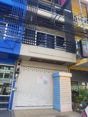 For SaleShophousePattaya, Bangsaen, Chonburi : Commercial building for sale in North Pattaya Sai 3