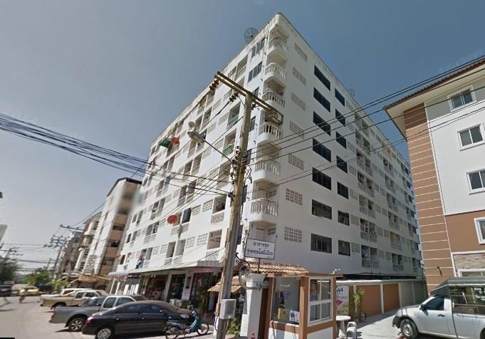 เช่าคอนโดมีนบุรี-ร่มเกล้า : ให้เช่า รุ่งคอนโด พื้นที่80ตรม. ขนาดใหญ่ มี8ชั้น  อยู่ชั้น7  มี2ห้องนอน 2ห้องน้ำ ถนน รามคำแหง164 ใกล้ตลาดน้ำขวัญเรียม ,ไทยวัสดุ  ให้เช่า9,000/เดือน