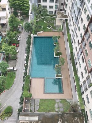For RentCondoRama3 (Riverside),Satupadit : For rent, pool view, The Trust Ratchada Rama 3, only 8,000 baht, size 29 sq m. ** Floor 15 *, beautiful room, fully furnished. ** Condo good location Opposite Central Rama 3 ** Near the expressway ** Near the market ** You can view the room every day **