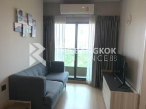 For SaleCondoRama9, New Petchburi, RCA : Sale with Tenant! 25+ High Floor Condo for Sale Near MRT Phetchaburi - Lumpini Suite Petchaburi Makkasan @3.7MB