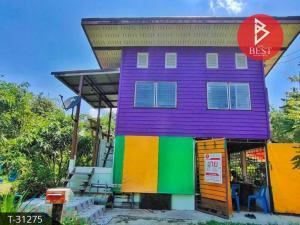 For SaleHouseNakhon Nayok : Cheap sale, single house with fruit orchard, Nong Saeng Subdistrict, Pak Phli District, Nakhon Nayok Province