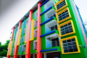 For SaleBusinesses for salePattaya, Bangsaen, Chonburi : 70 rooms for sale with 2 buildings, land 295 sq m, grade A location, near Burapha University, Nong Mon Market, Bang Saen Beach, the most convenient transportation.
