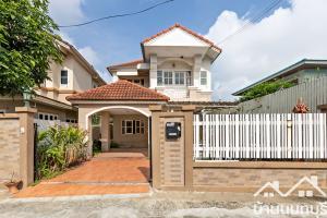 For SaleHouseChengwatana, Muangthong : 2-storey twin house, village Nawanit Bypass road - Pak Kret, good location
