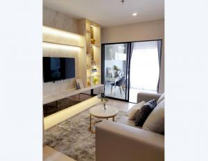 For RentCondoSathorn, Narathiwat : Condo KnightsBridge Prime Sathorn @BTS Chong Nonsi, 37.7 sq.m 1Bed 18th floor, Clear View, Fully furnished