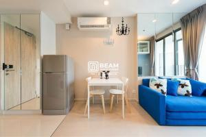 For RentCondoRama9, RCA, Petchaburi : ID004_P ** Condo Ideo Mobi Rama9 ** Beautiful room, fully furnished, ready to move in 💖
