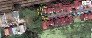 ขายที่ดินนครปฐม พุทธมณฑล ศาลายา : ขายที่ดินสำหรับสร้างบ้าน ซอยทวีวัฒนา 21 (ซอยวนัสพงษ์) คลองทวีวัฒนา  54 ตร.ว. แปลงริม