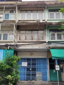 For SaleShophouseBang kae, Phetkasem : Commercial building for sale, 3.5-storey commercial building, Petchkasem 54, near MRT Phasi Charoen Seacon Bangkae.