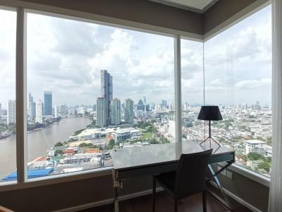 For SaleCondoRama3 (Riverside),Satupadit : Condominium for Sale:Menam ResidencesRiverside, Bangkok2 BR. River view.