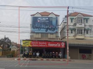For SaleHouseNawamin, Ramindra : 3-storey commercial building, 2 adjacent booths on the main road, 4 lanes, 57 sq m., 6 bedrooms, beautifully decorated, ready to do business or for rent. Liab Klong Song Road, Soi 21, Klong Sam Wa, Bangkok