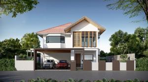 For SaleHousePattaya, Bangsaen, Chonburi : Modern pool villa ready to move in at pattaya