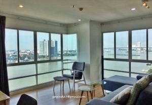 For RentCondoRama3 (Riverside),Satupadit : For Rent Condo Lumpini Park Riverside Rama 3 Size 104 sq.m 3 Beds 2 Baths