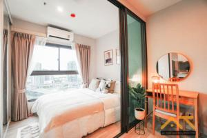 For RentCondoRama9, RCA, Petchaburi : For Rent The Privacy Rama 9  1Bed , size 24 sq.m., Beautiful room, fully furnished.