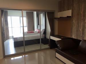 For RentCondoRama9, RCA, Petchaburi : Condo for rent, Aspire Rama 9, beautiful room, unblocked view
