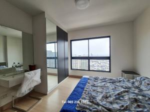 For RentCondoThaphra, Wutthakat : FOR RENE !!! Supalai Loft Talat Phlu Studio type with high floor furniture, beautiful view, the most special price (Tel.089-235-1551)