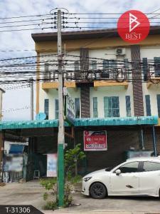 For SaleShophousePattaya, Bangsaen, Chonburi : 3-storey commercial building for sale, Na Pa, Chonburi, 2 units