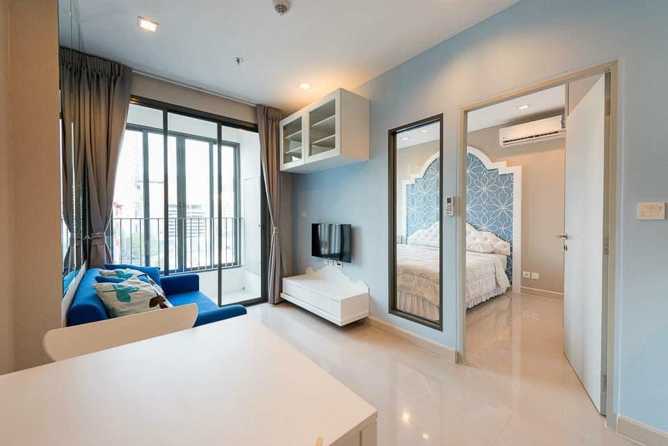 For RentCondoRama9, RCA, Petchaburi : Condo for rent Ideo Mobi Rama 9 (For rent Ideo Mobi Rama9) near Mrt Rama 9 near Central Rama 9