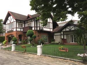 For SaleHouseOnnut, Udomsuk : House for sale Sukhumvit Garden City Village, Soi Sukhumvit 79, very good environment, excellent price, good value, lots of space