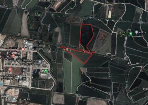 For SaleLandSamrong, Samut Prakan : Land for sale 64 rai near Chakri Naruebodin Medical Institute.