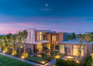 For SaleHousePattaya, Bangsaen, Chonburi : Luxury pool villa for sale in pattaya