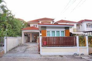 For SaleHouseRama5, Ratchapruek, Bangkruai : 2 storey detached house for sale, Sinsuk Place Village, Rama 7