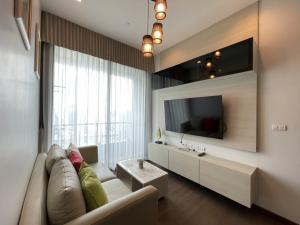 For RentCondoRama9, RCA, Petchaburi : for rent Q Asoke 2 bed 29,000 📍