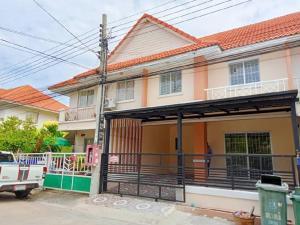 For SaleTownhouseSamrong, Samut Prakan : 🔰 Pruksa 34 Village Phase 2 Soi 8, 2-storey townhouse Ready to renovate