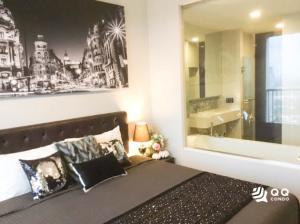 For RentCondoOnnut, Udomsuk : For Rent Rhythm Sukhumvit 44/1  1Bed , size 38 sq.m., Beautiful room, fully furnished.