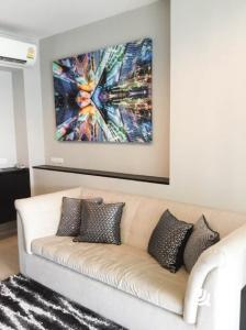 For RentCondoOnnut, Udomsuk : For Rent Rhythm Sukhumvit 44/1  1Bed , size 45 sq.m., Beautiful room, fully furnished.