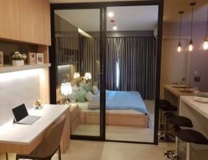 For RentCondoRama9, RCA, Petchaburi : For rent, Life Asoke, very nice room, next to MRT Phetchaburi.