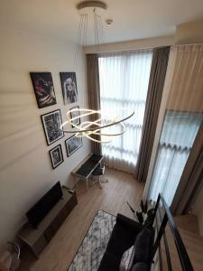 เช่าคอนโดพระราม 9 เพชรบุรีตัดใหม่ : Ideo New Rama 9 ห้องดูเพล็กส์สุดสวยให้เช่า พร้อมเข้าอยู่
