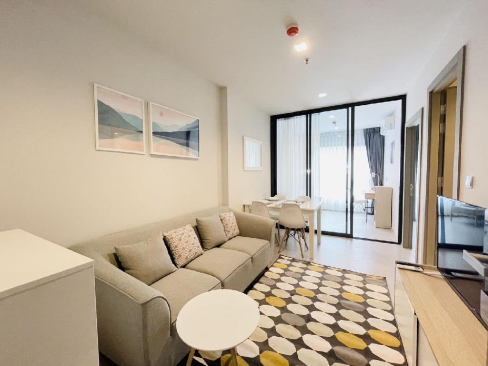 For RentCondoRama9, Petchburi, RCA : For rent: Life Asoke Rama9, new room, 40 sqm, 2 bedrooms, only 18000 baht.