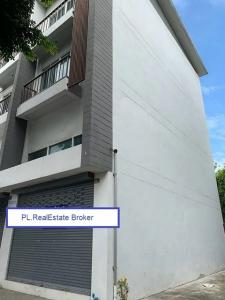 For SaleShophouseLadprao 48, Chokchai 4, Ladprao 71 : BS711-1 3-storey commercial building for sale, behind the corner, area 43 sq m, next to Nak Niwat Road Near the Lat Phrao District Office