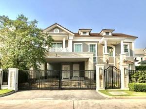 For SaleHouseBangna, Lasalle, Bearing : Baan Narasiri Bangna, 4 bedrooms, 5 bathrooms, 1 rai, 30 sq m.