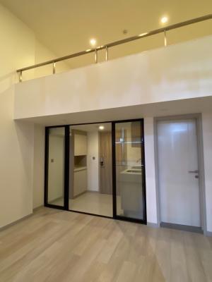 ขายคอนโดสาทร นราธิวาส : 🔥HOT PROPERTY – READY TO BE SOLD!🔥Beautiful 1 Bedroom Duplex at ✨KnightsBridge Prime Sathorn ✨Feature: 🔰Family unit perfect size for family 🔰1Bedroom Duplex 1 Bathroom🔰Size 37 Sq.m 🔰High Floor  🔰Nicely fully furnished Walking distance to BTS Chongnonsi(86