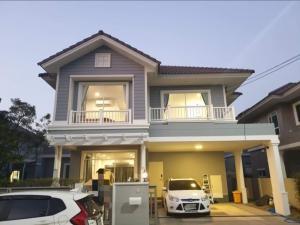 For RentHouseNawamin, Ramindra : Single house for rent 💢 Burasiri Panya Indra University, fully furnished, ready to move in, near Fashion Island / Sarasas Witaed Nimitmai School / Satit Pattana School
